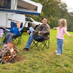 Family RV Camping Trip