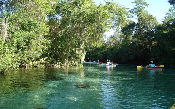 Paddling The Weeki Wachee River Outdoor Base Camp